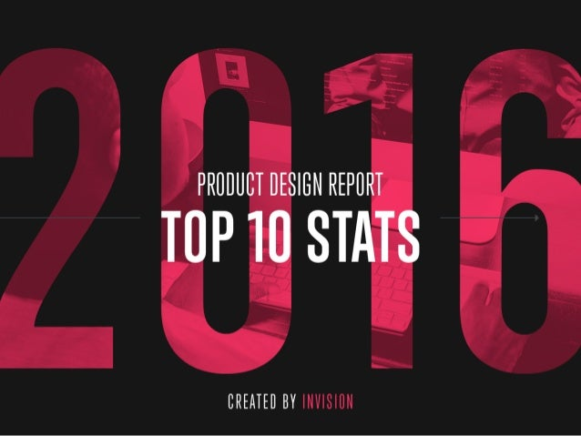 2016 Product Design Report from InVision
