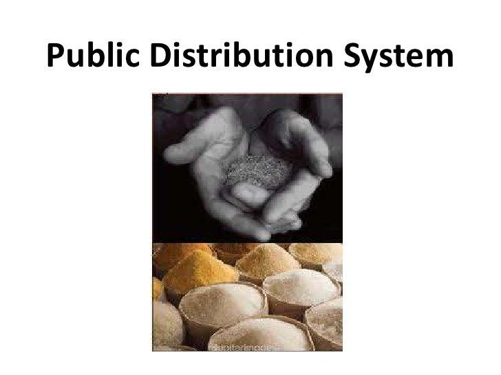 Public Distribution System<br />