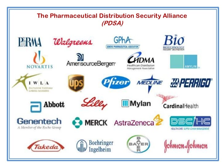 The Pharmaceutical Distribution Security Alliance                    (PDSA)