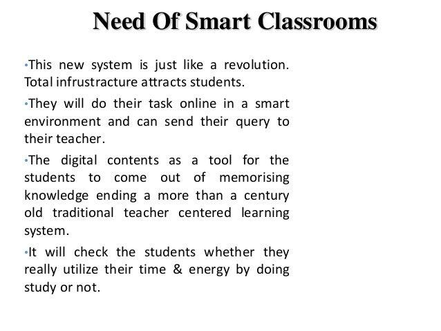 smart classroom   Slide 3