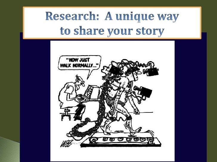 Research:  A unique way <br />to share your story<br />Renewable Fitness & ABLE Bodies<br />
