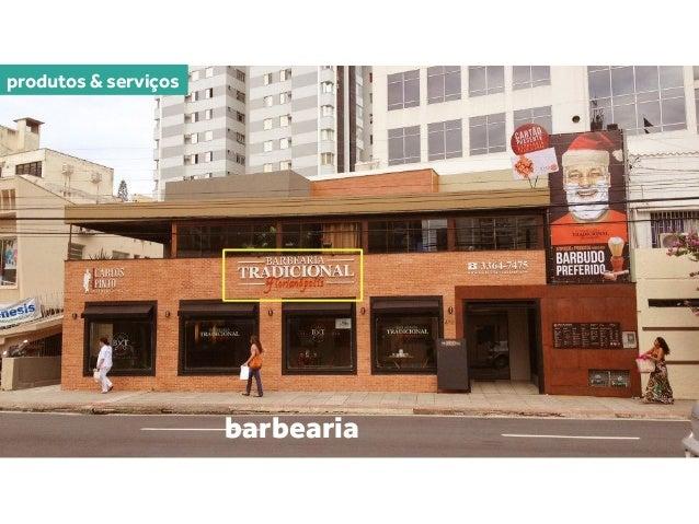 produtos & serviços alfaiataria barbearia café