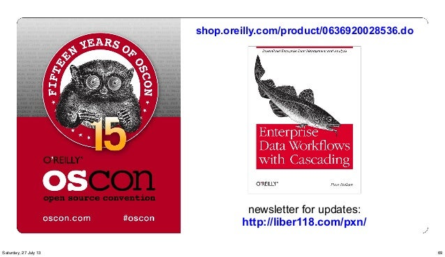 newsletter for updates: http://liber118.com/pxn/ shop.oreilly.com/product/0636920028536.do 69Saturday, 27 July 13