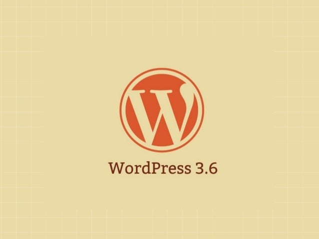 Portland WordPress Meetup: 3.6 Preview