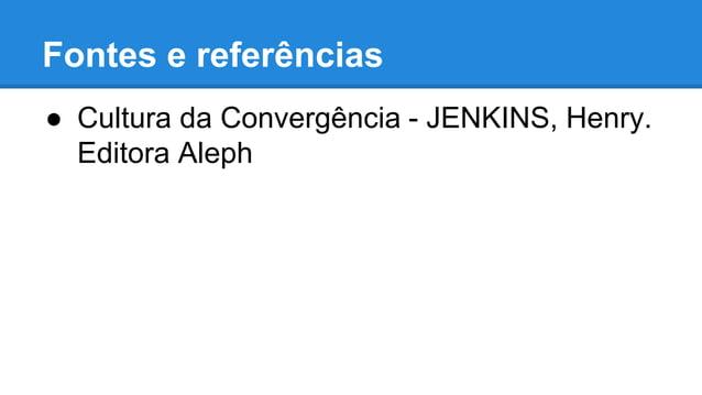 """Resumo do livro """"Cultura da Convergência"""", de Henry Jenkins"""