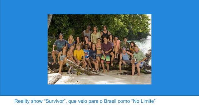 """Reality show """"Survivor"""", que veio para o Brasil como """"No Limite"""""""