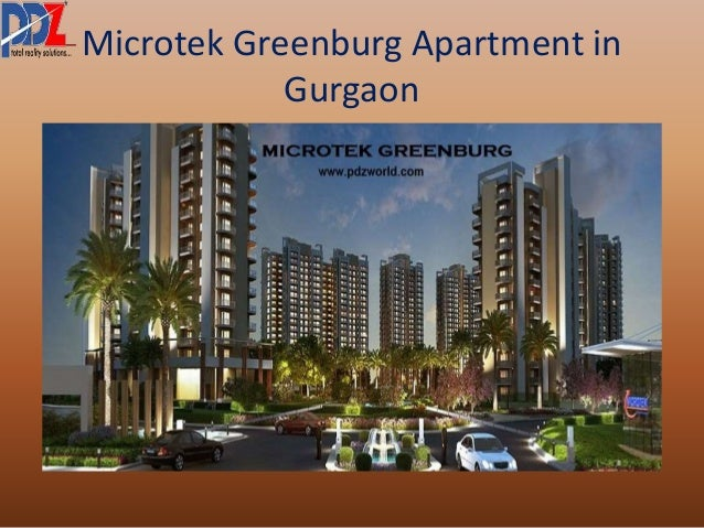 Microtek Greenburg Apartment in  Gurgaon