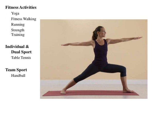 Triangle - From the pose Warrior II, L leg extended forward, change the hips towards R leg, bend on the side with L leg, a...