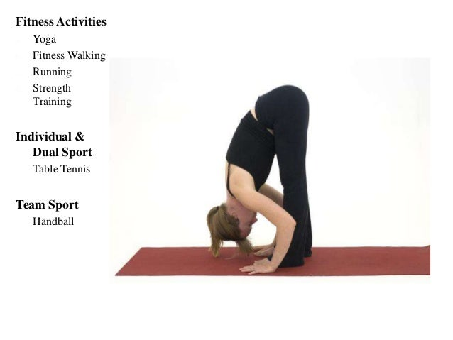 Downward facing dog - Press your heels and both arms extended, palms touching the floor, feet flat on the floor, hips lift...