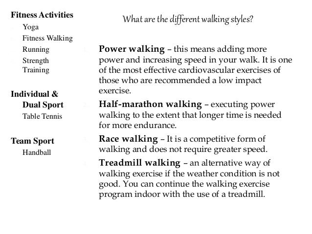 What are the different procedures to minimize the risk of injuries in walking? 1. Warm-up and cool down – before indulging...