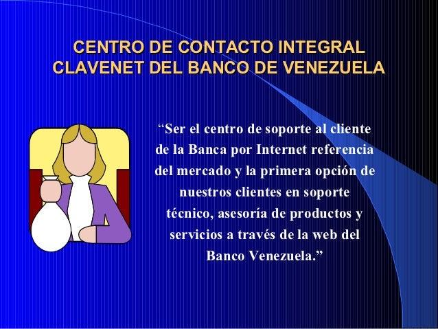 Planificaci n estrategica Banco venezuela clavenet