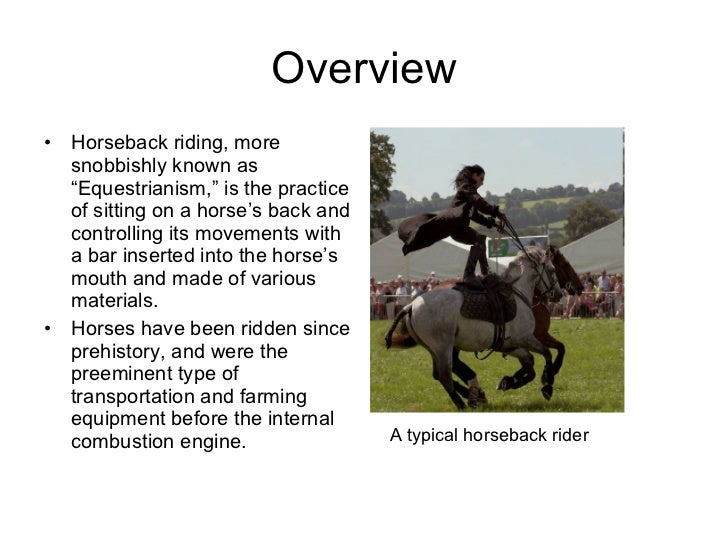 Finns Horseback Riding Presentation