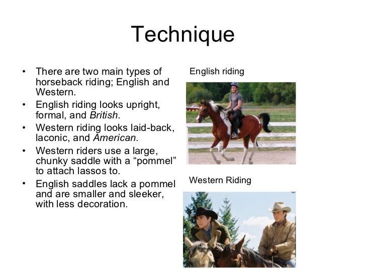 finn\u0027s horseback riding presentationtypical horseback rider; 3
