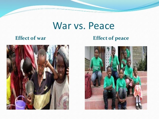 global peace need of the hour Marking a day of peace may seem idealistic especially against the grim  for  others, the 24-hour news cycle and the power of social media have  they need  to hear that this work is happening around the world, behind the.