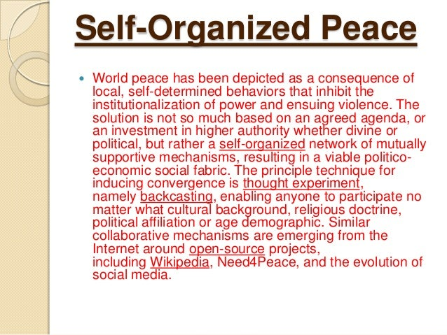 peace the need of hour William peace university is a sacs-accredited, small, private co-ed university in raleigh, nc.