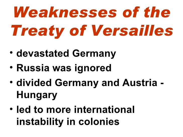 an introduction to the treaty of versailles This inspire project plan is for a 30-minute introduction to world war i remembrance it can be used as an assembly or at the begi ellisqpsw (0) free bundle.