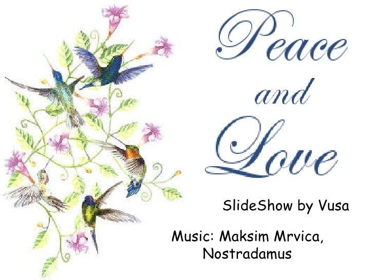 SlideShow by Vusa Music: Maksim Mrvica, Nostradamus