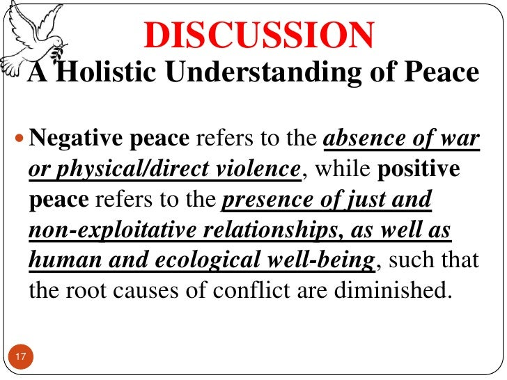 negative peace