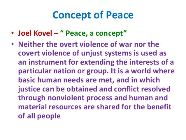 aims and objectives of peace education pdf