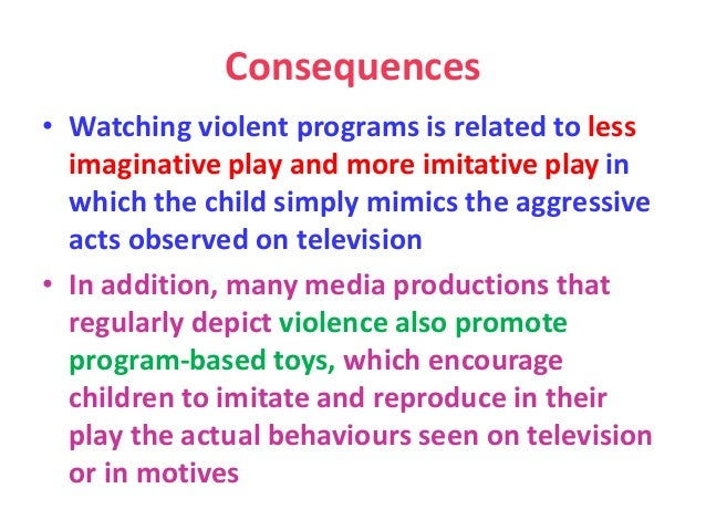 The Influence of Violent Media on Children and Adolescents Essay Sample