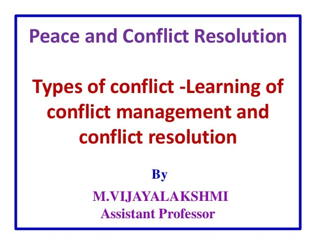 peace and conflict resolution in fata