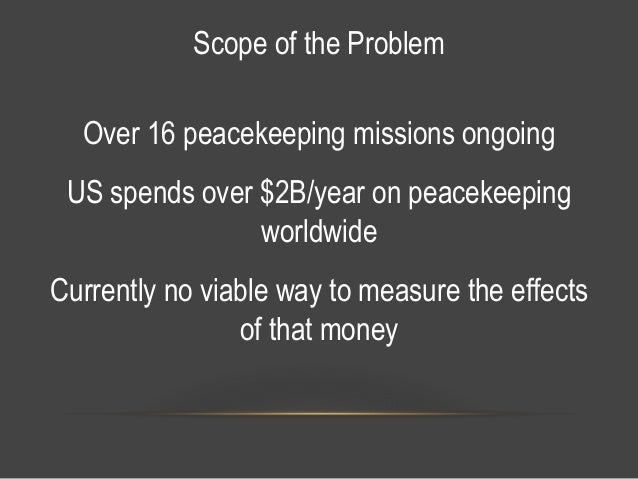Peacekeeping Lessons Learned H4Dip Stanford 2016 Slide 3