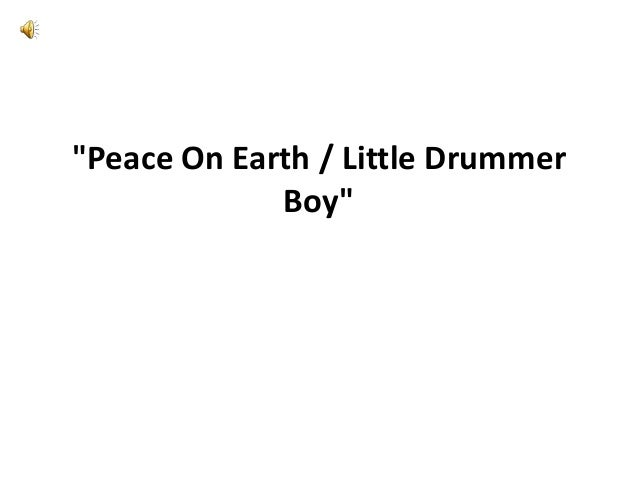 little drummer boy deutsch