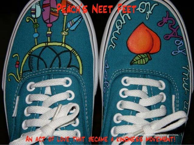 Peach's Neet Feet An act of love that became a kindness movement! https://www.facebook.com/PeachsNeetFeet?fref=ts