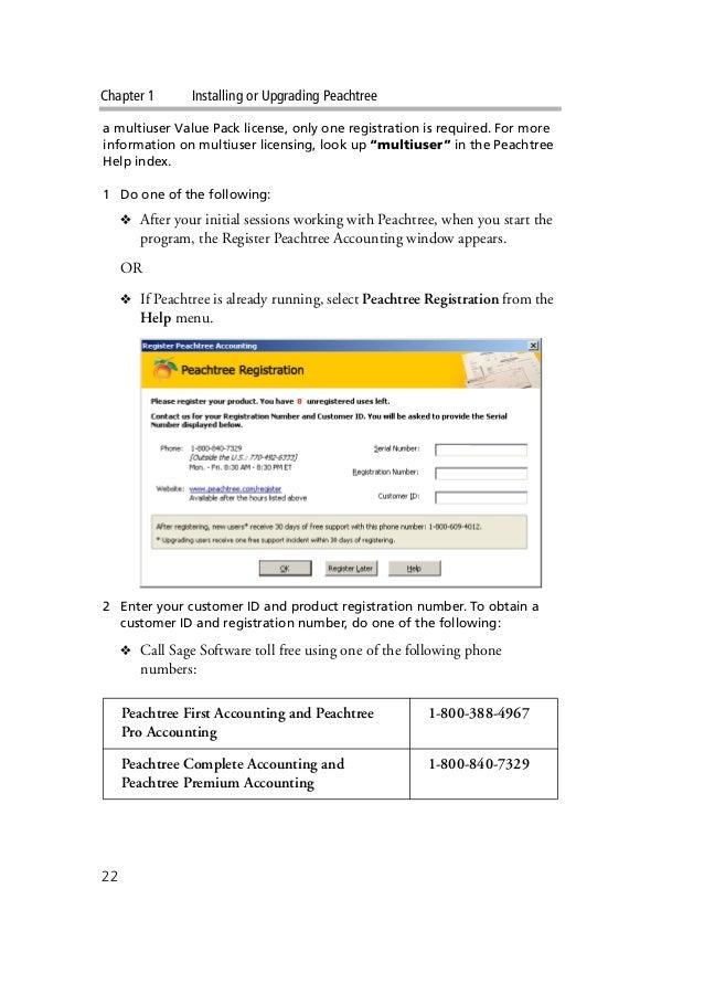 Peachtree Accounting Tutorial Pdf