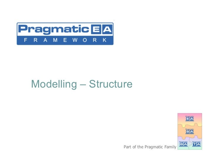 Modelling – Structure