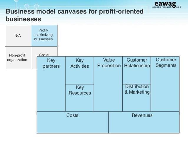 non profit business model