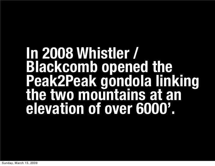 Peak2peak Slide 3