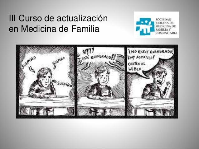 III Curso de actualización en Medicina de Familia