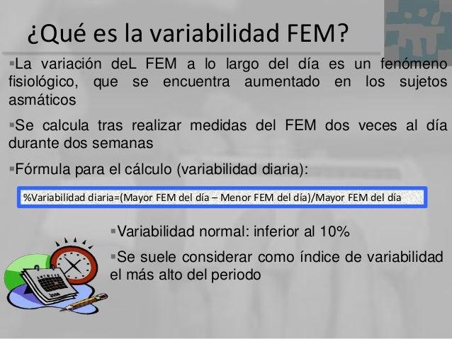 ¿Qué es la variabilidad FEM? La variación deL FEM a lo largo del día es un fenómeno fisiológico, que se encuentra aumenta...