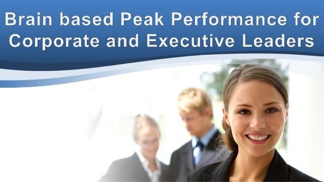 Would you or your management team benefit from cutting edge brain training for increased performance and lower stress?