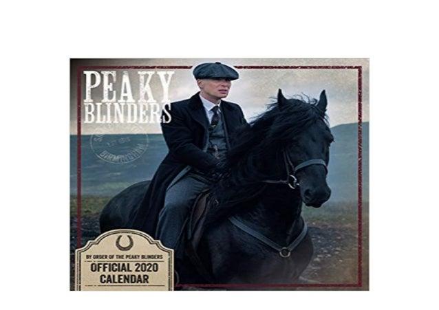 Official Square Wall Format Calendar Peaky Blinders 2020 Calendar