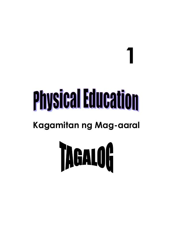 K TO 12 GRADE 1 LEARNER'S MATERIAL IN PE and HEALTH (Q1-Q4)