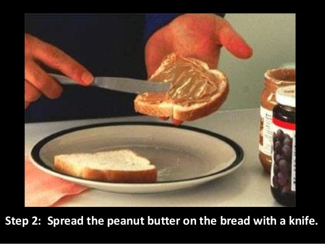 Step 3: Spread the jelly on the bread.