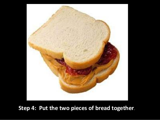 Step 5: With help from an adult, cut it in half.