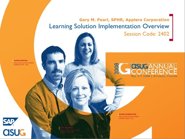 Learning Solution Implementation Overview Session Code: 2402