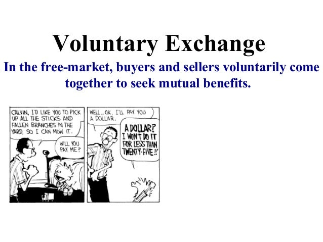 pearl exchange and voluntary exchange