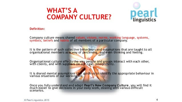 Pearl Linguistics Company Culture