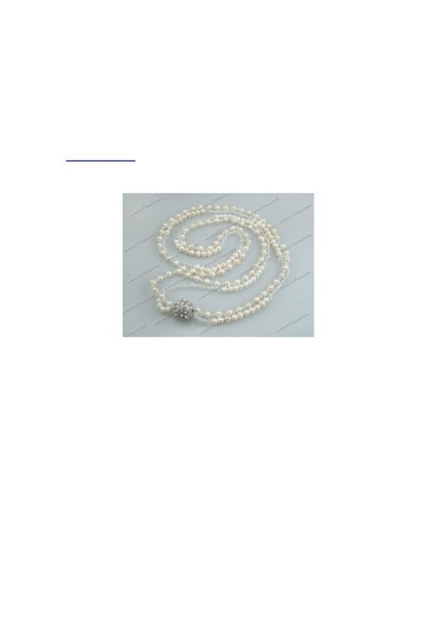 www.pearlacce.com guide you use Necklace to decorate your faceNecklace is one of the three important jewelry for girls. We...