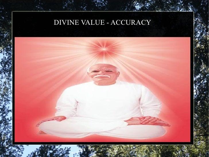 DIVINE VALUE - ACCURACY