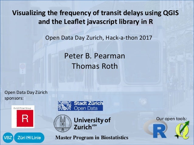 Visualizing the frequency of transit delays using QGIS and