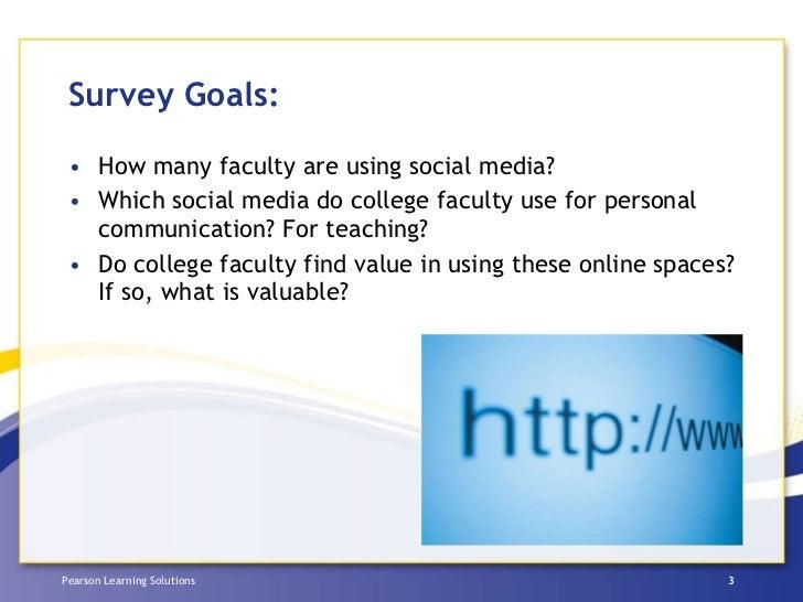 Pearson Social Media Survey 2010 Slide 3