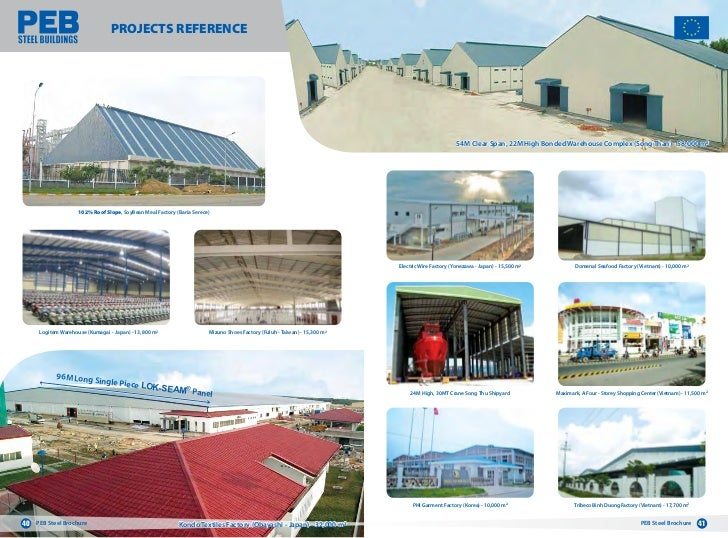 Peb Steel Buildings Brochure In English Nh 224 Th 233 P Tiền Chế