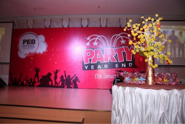 PEB Steel - Year End Party 2013 - Part 1