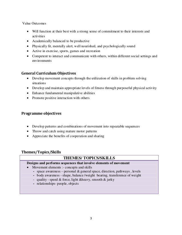 cac physical education manual 3