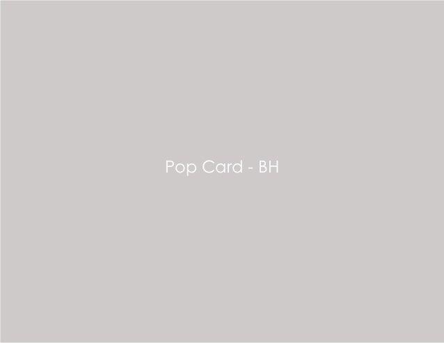 Pop Card - BH